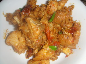 Chili_chicken_poriyal_cook