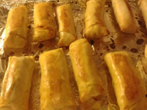 Indian Spring roll Bakedjpg