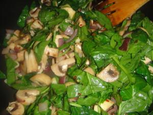 spinach_mushroom_pasta_saute