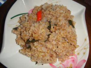 ( grain Hot cereal Upma Cook