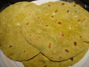 Avacodo chappati cook