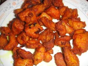Chili Chicken dry cook