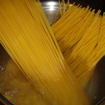 Spaghetti for boiling