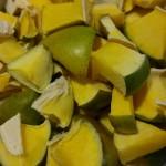 Air dried raw mango